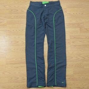 [Nike] Drifit Grey Neon Green Technical Pants XS